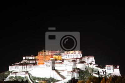 Potala-Palast in der Nacht