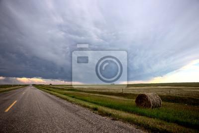 Fototapete Prairie Storm Clouds