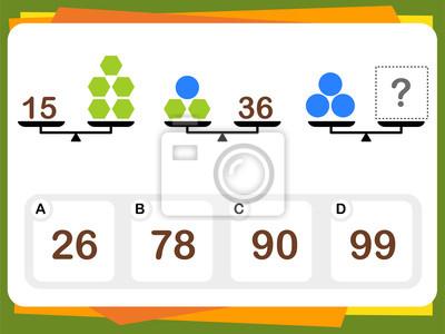 Awesome Iq Test Arbeitsblatt Illustration - Kindergarten ...