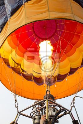 Preling Heißluftballon für den Flug