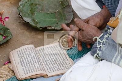Prière hindouiste