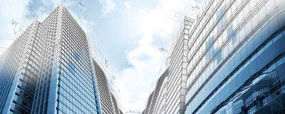 Fototapete Projekt der modernen Gebäude