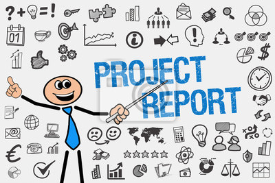 Projektbericht / mann mit symbole fototapete • fototapeten ...