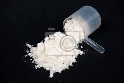 Protein Pulver scoop