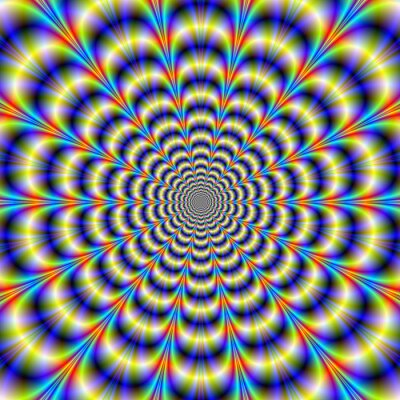 Fototapete Psychedelic Beat-Revisited