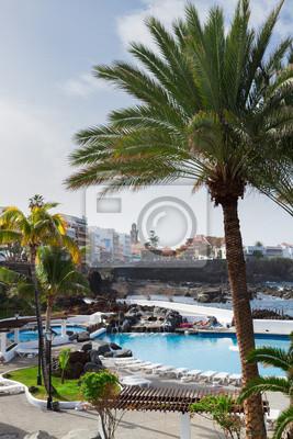 Fototapete Puerto de la Cruz, Teneriffa, Spanien