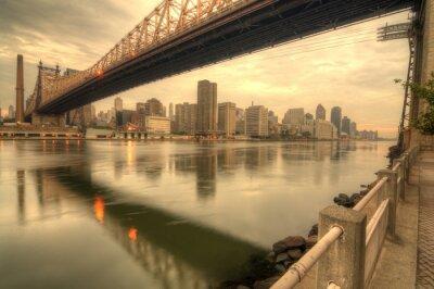 Fototapete Queensboro Bridge
