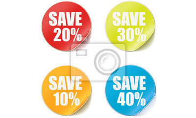 Rabatt Preisschilder sparen Preis