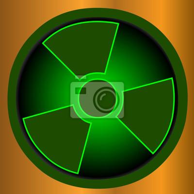 Radioaktive Symbol