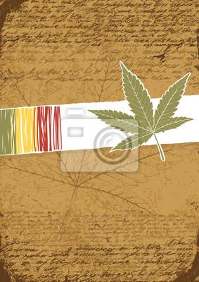 Rasta Retro abstrakten Hintergrund.