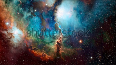 Fototapete Raumhintergrund der hohen Qualität. Elemente dieses Bildes von der NASA eingerichtet.