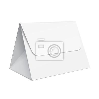 Realistische white blank vorlage verpackung für lebensmittel ...