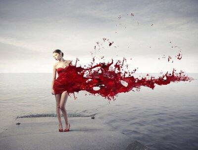 Fototapete Red beauty