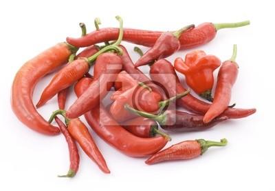 Red Hot Chili Peppers auf weißem Hintergrund