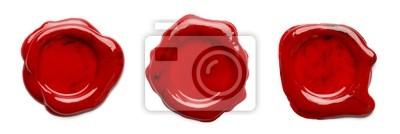 Red Wachs-Siegel
