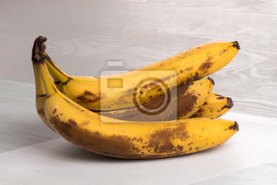 Fototapete reife Bananenstaude