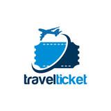 Online-ticket-logo-vorlage, einfache ticket kaufen logo designs ...