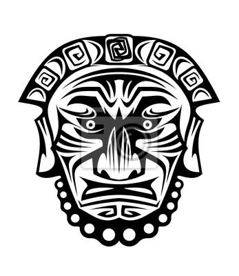 Religiöse Maske