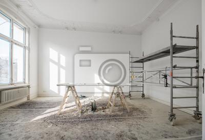 Fototapete Renovierung   Alte Wohnung Bei Renovierung / Restaurierung