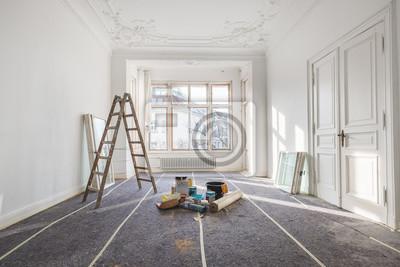 Fototapete Renovierung   Alte Wohnung Bei Renovierung / Sanierung
