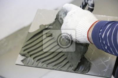 Fußboden Fliesen Reparieren ~ Reparatur innendekoration verlegung von bodenfliesen der