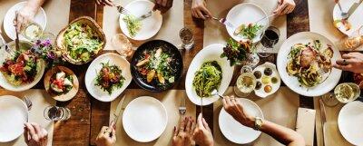 Fototapete Restaurant Chilling Out Klassischen Lifestyle Reserviert Konzept