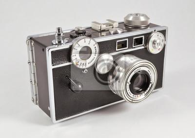 Retro 35mm entfernungsmesser film kamera fototapete u2022 fototapeten
