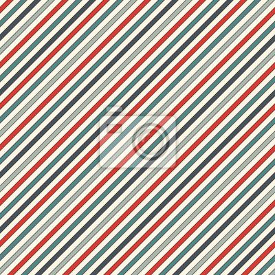 Retro Farben Diagonalen Streifen Abstrakten Hintergrund Dünne