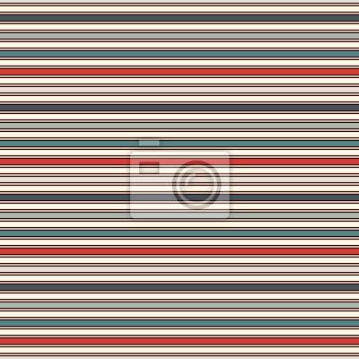Retro Farben Horizontale Streifen Abstrakten Hintergrund Dünne
