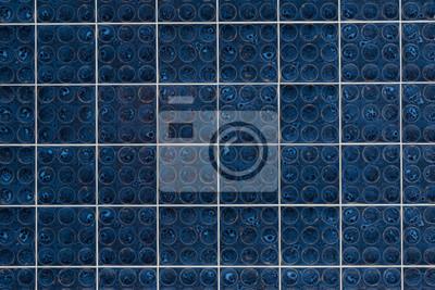Retro Fliesen Blau Fototapete Fototapeten Verglast Erweiterung