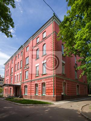 Fototapete retro Gebäude in der historischen Innenstadt von Charkow. Ukraine