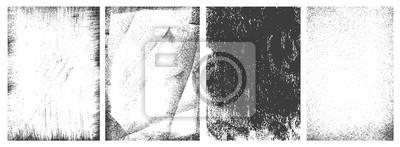 Fototapete Retro grunge vertical frames set