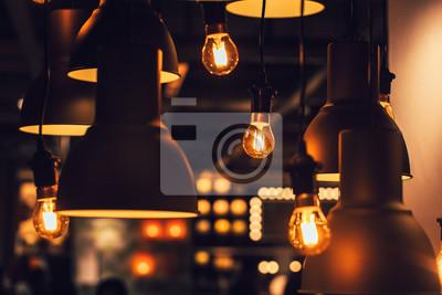 Moderne Lampen 64 : Retro industrielle loft stil hängenden wolfram lampenkolben