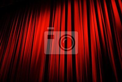 Rideau rouge théâtre fototapete • fototapeten Zimmer, zeigen ...