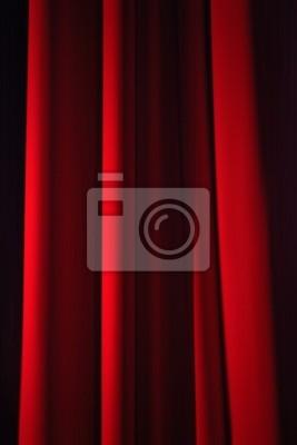 Fototapete: Rideau scène spektakel théatre artiste représentation velours
