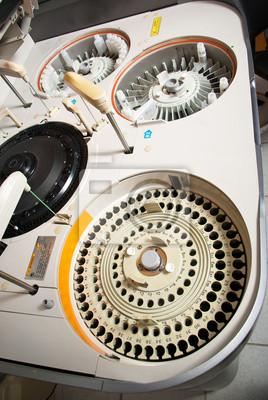 robotical Maschine in medizinischen Labor von oben