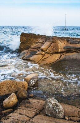 Fototapete Rocas en la costa