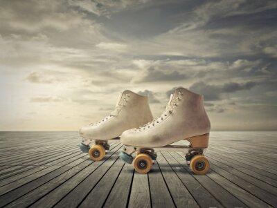 Fototapete Roller Skates