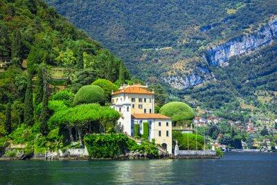 Fototapete Romantischen Lago di Como, Villa del Balbianello