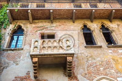 Romeo Und Julia Balkon In Verona Fototapete Fototapeten Tour