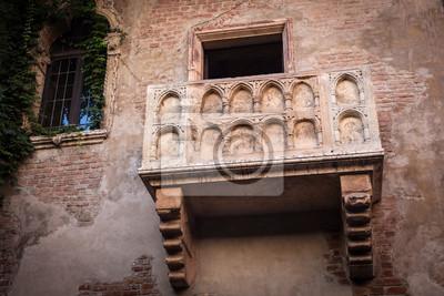 Romeo Und Julia Balkon In Verona Italien Fototapete Fototapeten