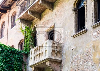 Romeo Und Juliet Balkon In Verona Italien Fototapete Fototapeten