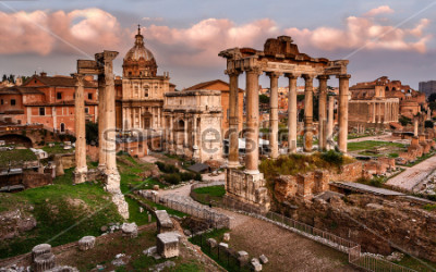Fototapete Römisches Forum, Rom