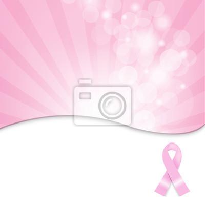 Rosa Brustkrebs-Band-Hintergrund