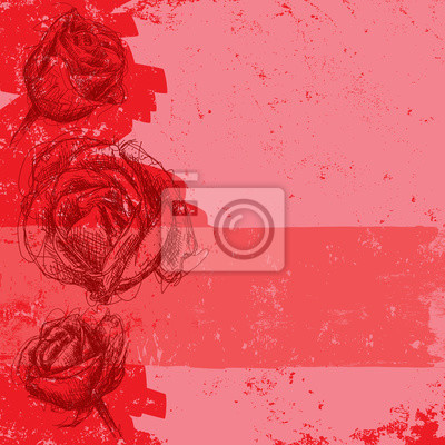 Rose abstrakt