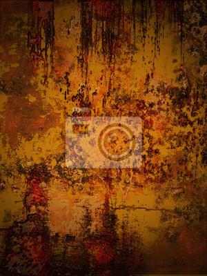 Rost Auf Blech Fototapete Fototapeten Sich Verschlechtern Verfall