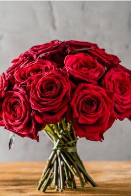 Fototapete rote Rosen