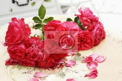 Rote Rosen Tischdeko Fototapete Fototapeten Red Rose Strauss