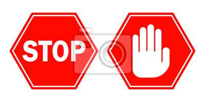 Stopp Zeichen