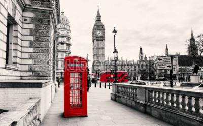 Fototapete Rote Telefonzelle in London